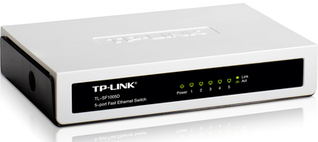 TP-LINK switch TL SF1005D
