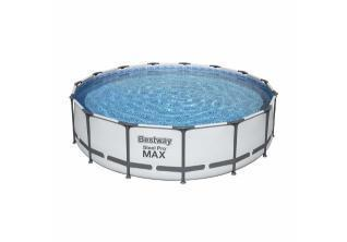 Bestway Bazen za dvorište sa pumpom 4,57 m x 1,07 m Steel Pro Max