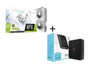 Zotac Grafička karta GeForce RTX 3060 AMP ZT-A30600F-10P + Mini PC ZBO