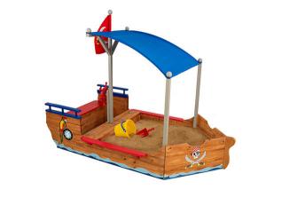 KidKraft Bazen za pesak Piratski brod