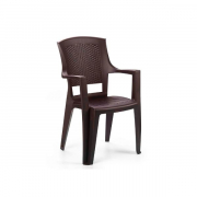 Rainbow Baštenska stolica Flora - Braon