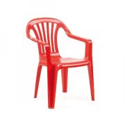 Ipae-Progarden Dečija plastična stolica Baby Altea - Crvena