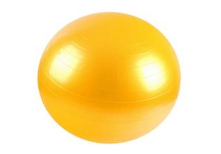 FitWay Lopta za pilates PVC001 - Žuta