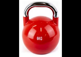 FitWay Kettlebells 6 kg - Crveni