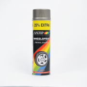 MoTip Boja za felne akril 500 ml - Čelično siva