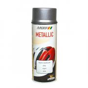 MoTip Boja u spreju 400 ml / 393983- Metalik srebrna