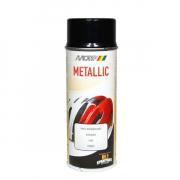 MoTip Boja u spreju 400 ml / 394010 - Metalik crna