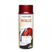 MoTip Boja u spreju 400 ml / 394034 - Metalik crvena