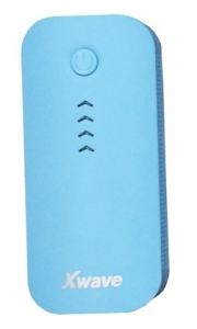 X WAVE power bank GO 44 BLUE