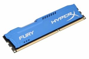 KINGSTON DIMM DDR3 4GB 1600MHz HX316C10F/4 HyperX FURY Blue