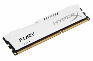 Kingston DIMM DDR3 4GB 1866MHz HX318C10FW/4 HyperX FURY White