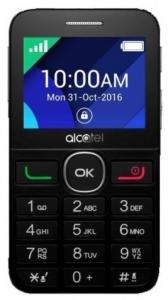 ALCATEL mobilni telefon 2008 G BLACK SILVER