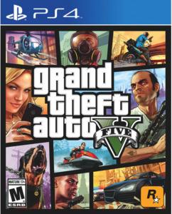 TAKE TWO igra PS4 GRAND THEFT AUTO 5