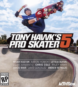 ACTIVISION igra PS4 TONY HAWK WORLD 2015