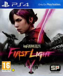 SONY igra PS4 INFAMOUS FIRST LIGHT