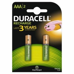 DURACELL baterije AAA 2KOM 750 6M
