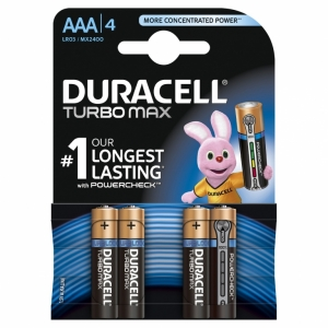 DURACELL baterije AAA 4KOM DURALOCK