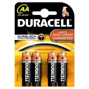 DURACELL baterije AA 4KOM DURALOCK