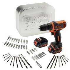 BLACK & DECKER bušilica BDCDD12BAT
