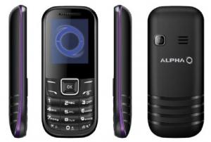 ALPHA mobilni telefon D1 PURPLE