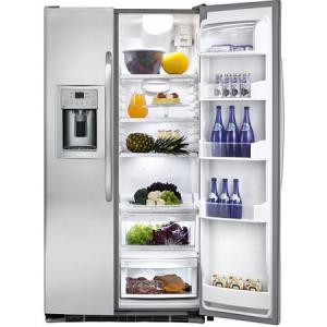 GENERAL ELECTRIC Side by Side frižider GE GCE23XGBFLS, No Frost