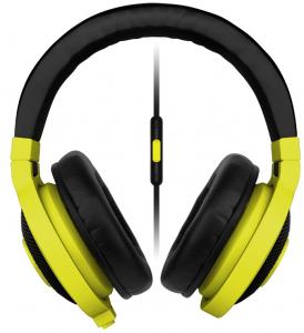 RAZER slušalice Kraken Mobile Headset Neon Yellow