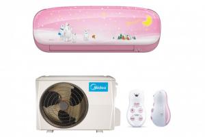 MIDEA Klima uređaj inverter Kid Star MSEABU 09HRFN1, Ružičasta