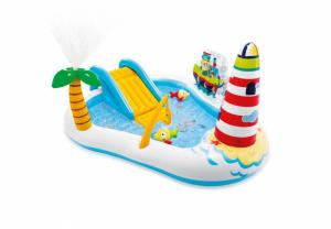 Bazen za decu Intex Fishing Fun Play Center - 218 cm x 188 cm x 99 cm