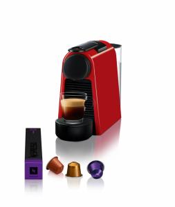 Nespresso Aparat za kafu Essenza Mini - Crveni