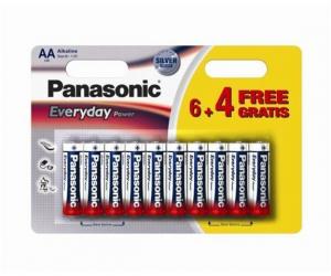 PANASONIC Baterije LR6EPS/10BW