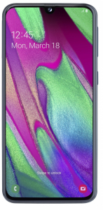 SAMSUNG Galaxy A40 - 64 GB - Crni