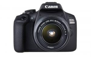 Canon Foto-aparat EOS 2000D - Crni