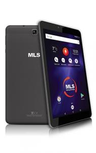 """Mls Tablet IQM801 8"""", 1 GB, 8 GB + 16 GB Micro SD - Sivi"""