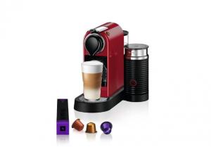 Nespresso Aparat za kafu Citiz&Milk - Crveni