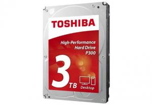 "HDD 3,5"" SATA 3 7200 3 TB Toshiba P300 HDWD130UZSVA - 64 MB"