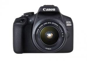 Canon Foto-aparat EOS 2000D BK