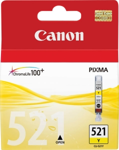 Canon kertridž CLI 521Y
