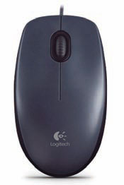 Logitech optički miš M90 SILVER
