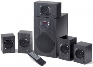 Genius zvučnici za kompjuter W HF5 1 4500 BLACK