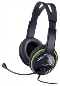 GENIUS Slušalice HS-400A GREEN