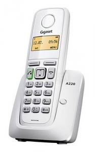 Gigaset bežični telefon A220 WHITE
