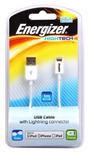 Energizer kabl za iPhone IPH5 WHITE