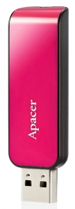Apacer USB flash AH 334 16GB PINK