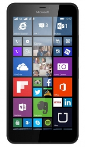 Microsoft smart mobilni telefon Lumia 640 XL DS BK
