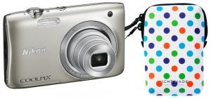 Nikon fotoaparat Coolpix S2900 SREBRNI+Torbica