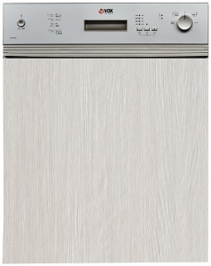 VOX Mašina za pranje sudova GSH 6641, Ugradna