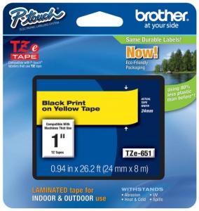 Brother traka za štampač nalepnica TZe651