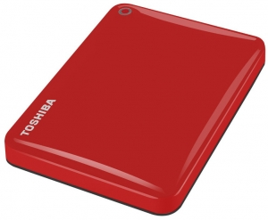"Toshiba Canvio Connect II 2.5""500GB Red, USB 3.0 eksterni hard di"