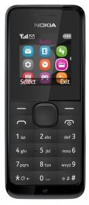 Nokia mobilni telefon N105 DS BK