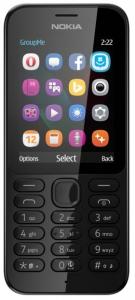 Nokia mobilni telefon N 222DS BLACK